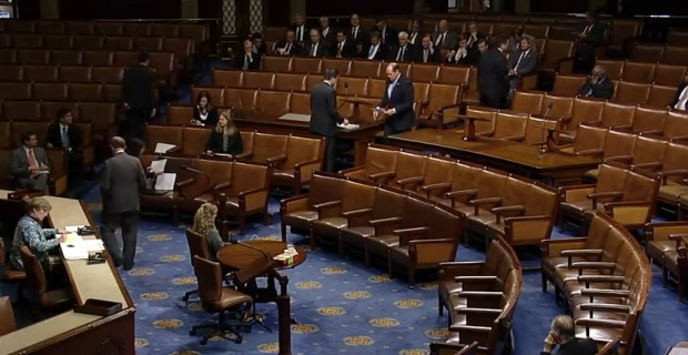 House Reads Out Constitution, Only 74 Members Show Up