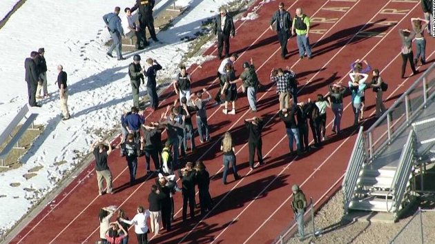 Dead Colorado school shooter wanted to confront teacher, sheriff says