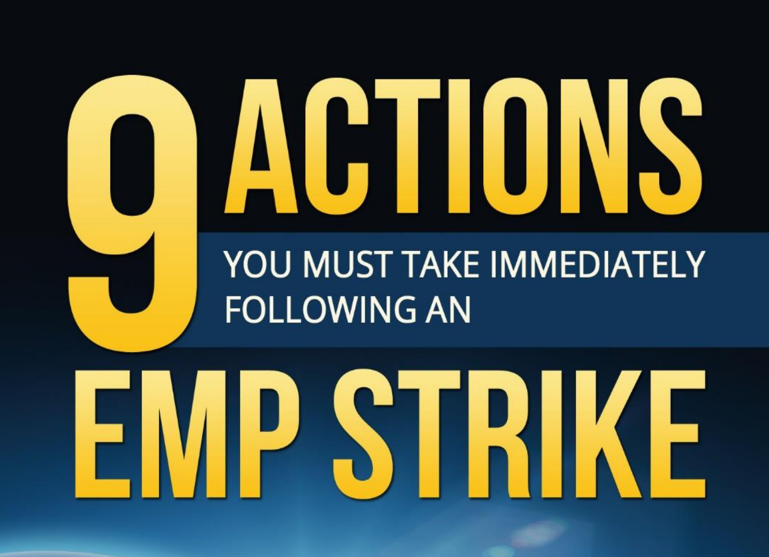9 Actions You Must Take Immediately After an EMP Strike