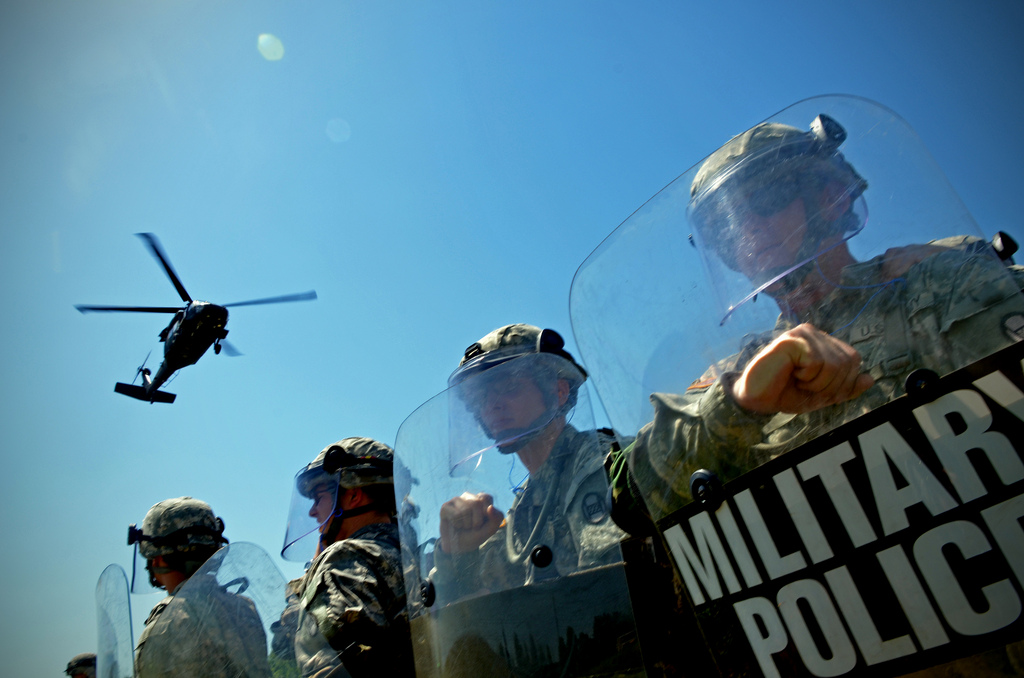 North Carolina National Guard Rapid Reaction Force Civil Unrest Training Photos